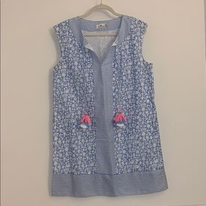 vineyard vines sleeveless cover-up